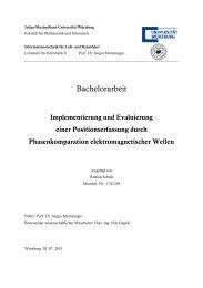 Implementierung und Evaluierung einer Positionserfassung durch ...