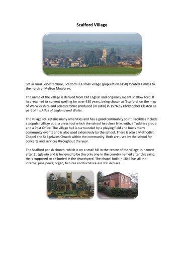 About our Village - Eteach