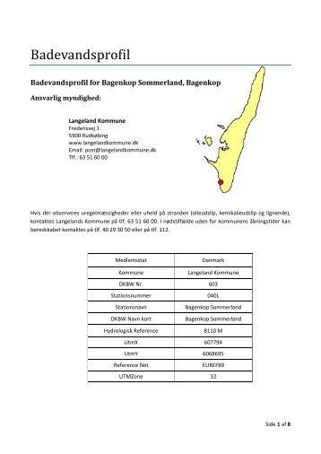 Bagenkop Sommerland - Langeland Kommune