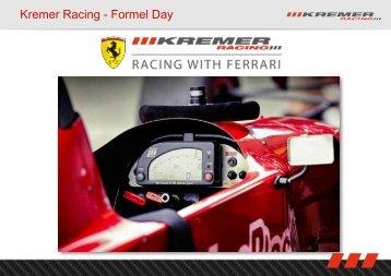 Zur PDF mit allen Infos - Kremer Racing