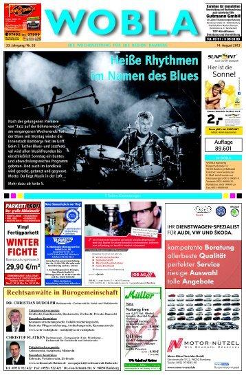 Heiße Rhythmen im Namen des Blues - WoBla