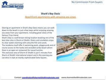 Download PDF - Sharm El Sheikh Real Estate