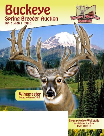 Buckeye Spring 2013 Auctoin page 1 to 60 - Whitetail Deer Farmer