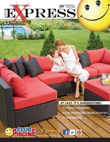 Piscine magazines for Club piscine ca