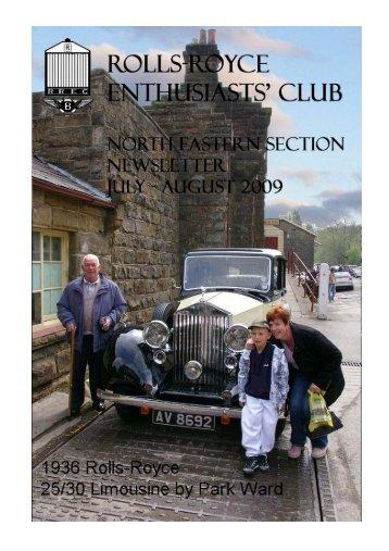 NL Jul-Aug 09 master - Rolls-Royce Enthusiasts' Club North East