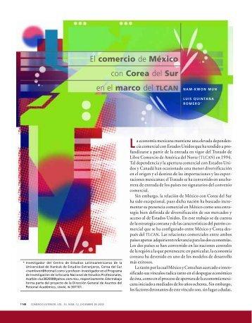 El comercio de México con Corea del Sur - revista de comercio ...