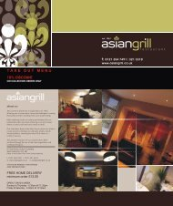 download menu - Asian Grill