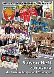 Saisonheft 2013/2014 - Wbv