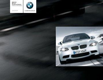 BMW M3 Berline, Coupé et Cabriolet Tarifs au ... - BAC Monte Carlo