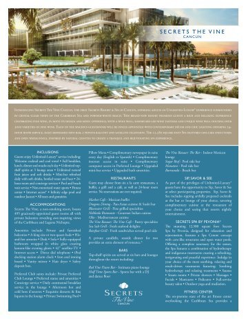 Secrets The Vine Cancun - AMResorts