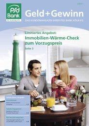 Limitiertes Angebot - PSD Bank Köln eG