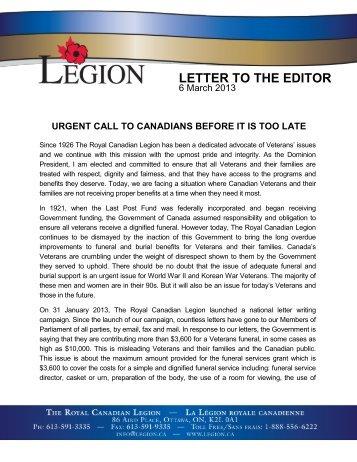Download PDF - The Royal Canadian Legion