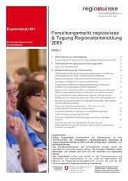 Ergebnisblatt Thementische D.pdf - Regiosuisse
