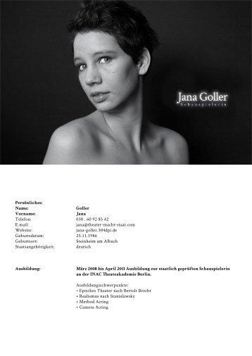 Jana Goller - 304dpi