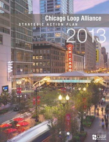 strategic Action plan 2013 - Chicago Loop Alliance