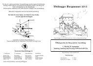Wolfsegg Programm 2013 - Burg Wolfsegg