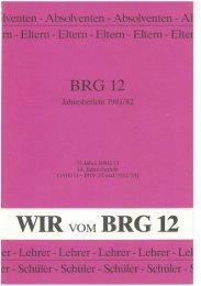 Jahresbericht 1981/82