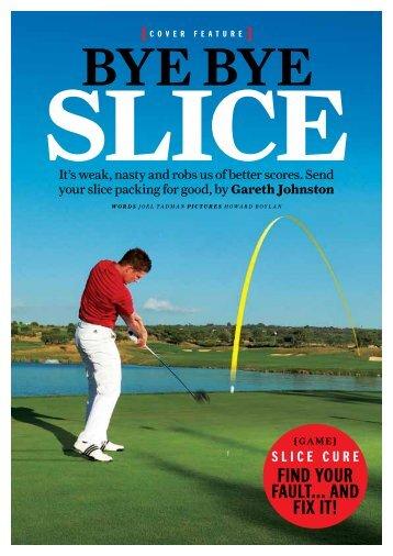 cure your slice - Gareth Johnston - Home.