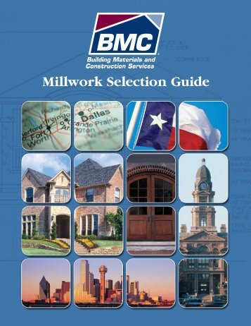 Dallas/Ft. Worth Millwork Catalog - BMC