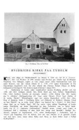 Hvidbjerg Kirke på Tyholm - Danmarks Kirker - Nationalmuseet