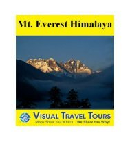 Mt. Everest Area Tour, Nepal Preview