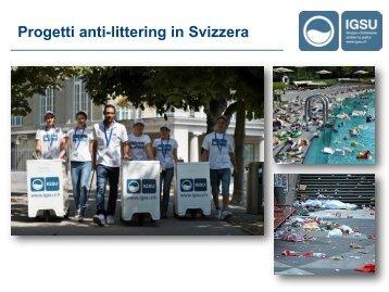 Progetti anti-littering in Svizzera - Modus Riciclandi