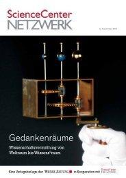 Beilage zur Wiener Zeitung vom 14. 12. 2013 (PDF - Science Center ...