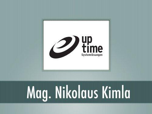 Mag. Nikolaus KIMLA [7.1 MB] - GO-AHEAD
