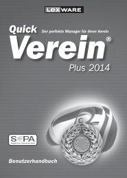 Handbuch (PDF) - PC-Vereins-Software + 200 Vorlagen für die ...