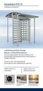 Elektromechanische Drehsperren und Drehkreuze - Seite 4