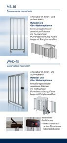 Elektromechanische Drehsperren und Drehkreuze - Seite 6