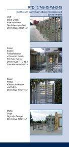 Elektromechanische Drehsperren und Drehkreuze - Seite 7
