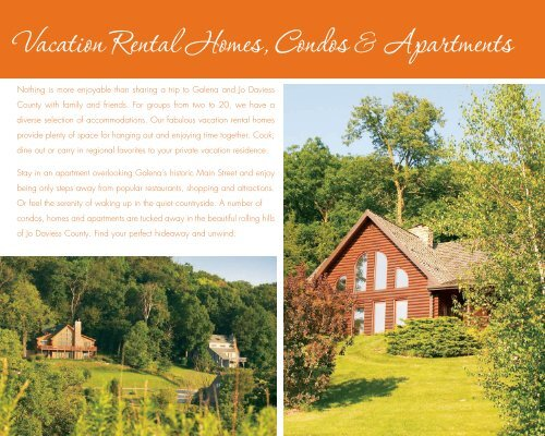 Vacation Rental Homes, Condos & Apartments - Galena