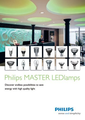 Philips MASTER LEDlamps - National Lamps and Components