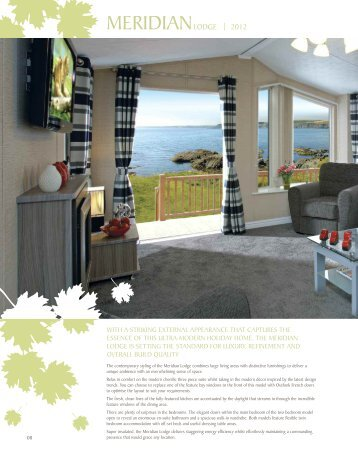Willerby Meridian.pdf - Park Holidays UK
