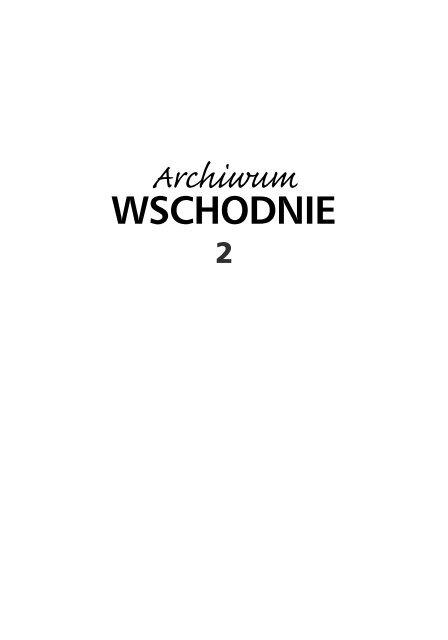 1 Katalog Zbiorow Archiwum Ok Redakcyjnawstep Karta