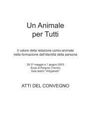 Download: Atti del Convegno 2003 - Cani da Vita