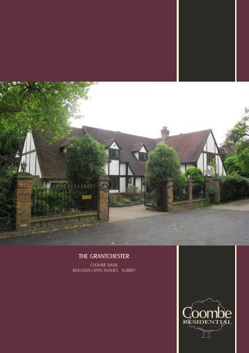 View Brochure - Coombe Residential