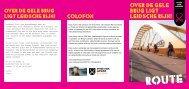 Download routebeschrijving Vicky Vinex - Uit in Leidsche Rijn