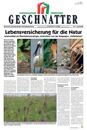 Geschnatter April/2009 - Nationalpark Neusiedler See Seewinkel
