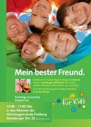 ProChrist für Kids in Freiberg 2. März 2013 - Jakobi-Christophorus ...