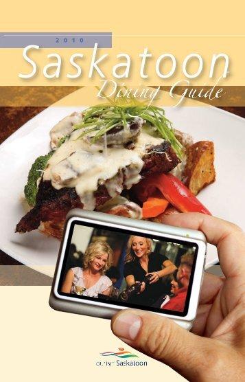 Dining Guide - Tourism Saskatoon
