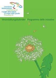Veranstaltungskalender   Programma delle iniziative