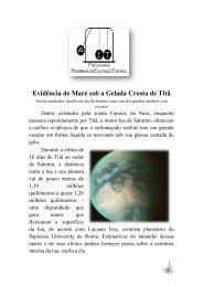 Evidência de Maré sob a Gelada Crosta de Titã - Unifap