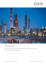 Slop Oil Recovery pdf, 2.3 MB - GEA Westfalia Separator Group