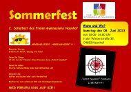 von 10:00- 14:00 Uhr in der Wiesenstraße 36, 04683 ... - fv-fgn.de
