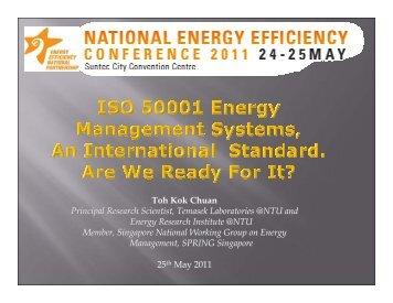 Toh Kok Chuan Principal Research Scientist ... - Energy Efficiency