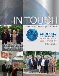 Newsletter - Canadian Crime Stoppers Association