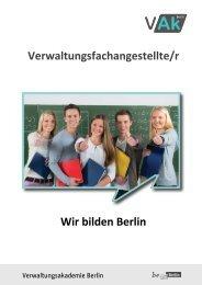 Allgemeine Hinweise - Verwaltungsakademie Berlin - Berlin.de