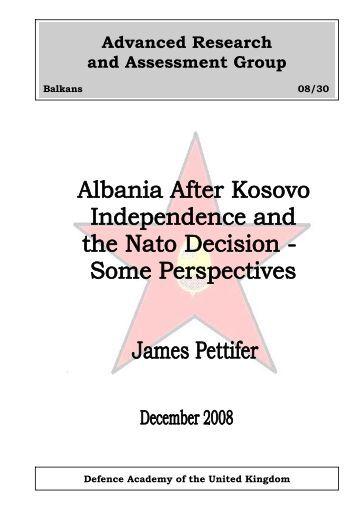 Albania After Kosovo independence and the Nato Decision